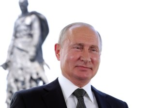 President Vladimir Putin appears in a televised address to the nation about the constitutional changes.