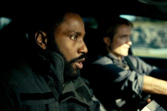 Never underestimate the importance of a great cast: John David Washington as The Protagonist and Robert Pattinson as plays Neil.