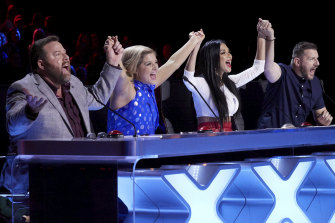 Australia's Got Talent judging panel are expected to return for 2020: Shane Jacobson, Lucy Durack, Nicole Scherzinger and Manu Feildel.