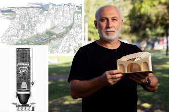 A crying room, a toilet block and more green space: Sydney's unbuilt projects