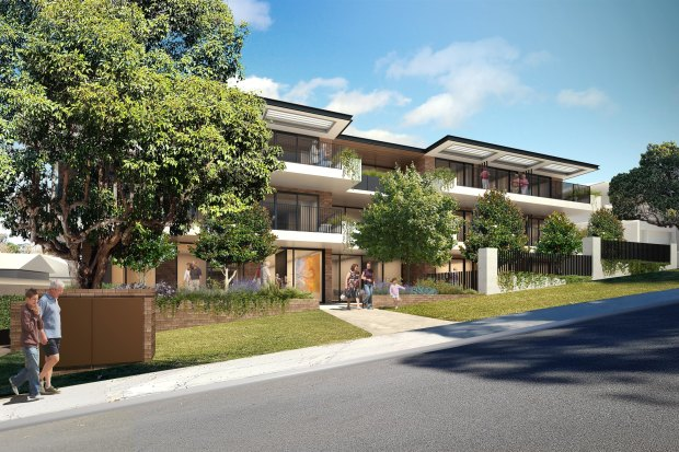 Oryx's boutique aged care proposal for Nedlands.