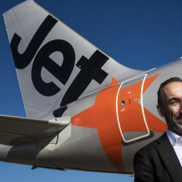 Jetstar chief executive Gareth Evans.