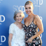 Getaway host Catriona Rowntree and mum Heather.
