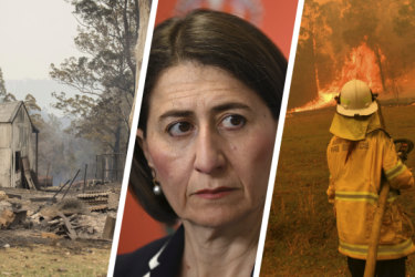 As the state burns, Berejiklian's government is at loggerheads over hazard reduction