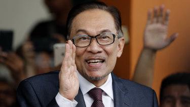 Malaysian reformist icon Anwar Ibrahim.