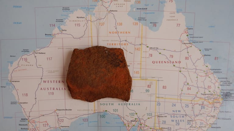 Steve will travel 3000 kilometres out of his way to return the rock.