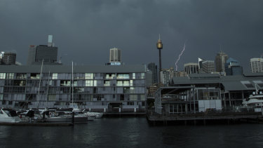 Thunderstorms are forecast to hit Sydney every afternoon this week until Saturday.