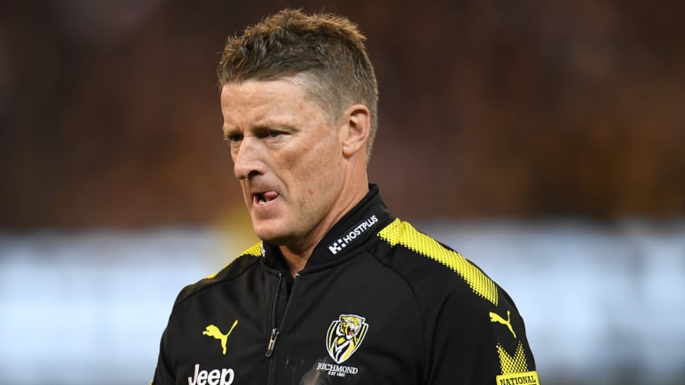 Tigers coach Damien Hardwick had a prosaic message for his troops after the loss to Collingwood.