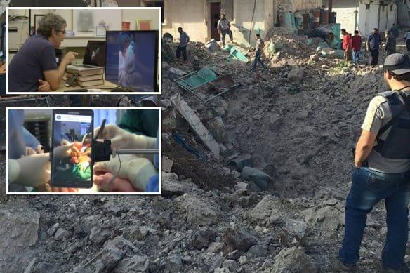 Hackers led warplanes to Syrian hospital, claims British surgeon
