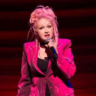 Superstar Cyndi Lauper wrote the outstanding score for Kinky Boots.