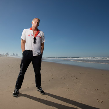 Cody Simpson is leaving no stone unturned as he goes all in on his swimming career.