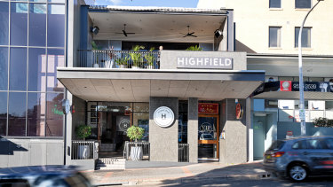 The freehold, subject to lease,Highfield Caringbah, 32 Banksia Road, Caringhbah is being sold