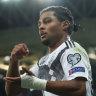 Unconvincing win sees Germans top in Euro qualifiers, Belgium thrash Scots