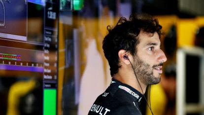 Magnussen unleashes on Ricciardo