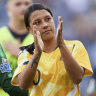 Kerr frustrated but content after Matildas blow out 'cobwebs'