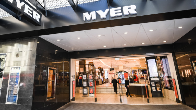 for ailing department store myer  no news is good news