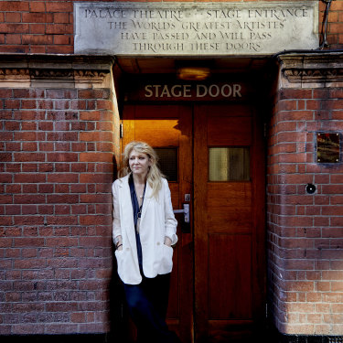 London theatre producer Sonia Friedman.