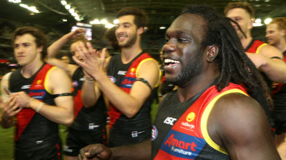 Heart-in-your-month Essendon dream of finals