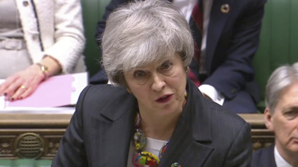 May accused of 'Brexit blackmail' after appealing for more time