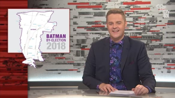 Communications Minister takes aim at Tonightly with Tom Ballard skit