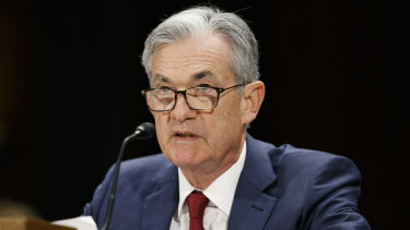"The Fed chief stressed at his second day of congressional testimony that the US economy is ""in a very good place""."