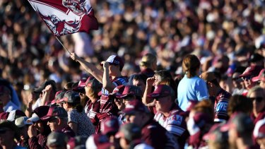 The safety of spectators is the top priority for the NRL, says CEO Todd Greenberg.