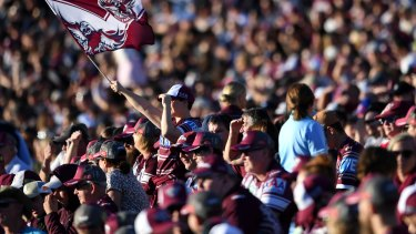 The NRL hopes to have grounds full of fans by July 1.