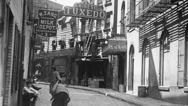 Doyers Street, home to Chinese Tuxedo, was once one of the most dangerous streets in the US.