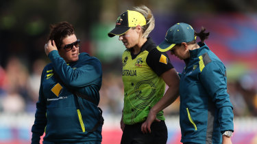 Ellyse Perry is on the comeback trail from injury.