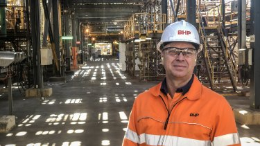 BHP Nickel West assett president Eddy Haegel.