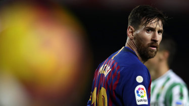 La Liga, which features superstars such as Barcelona's Lionel Messi, tried to crack down on illegal streamers by using its phone app to spy on pubs showing matches.