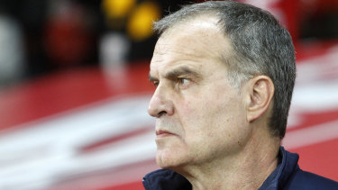 Manager Marcelo Bielsa says his staff have routinely watched their opponents train.