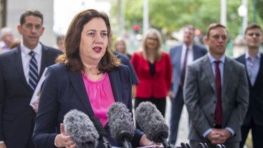 Premier Annastacia Palaszczuk says the affair is a wake-up call for the public service all the way up to the ministerial level.