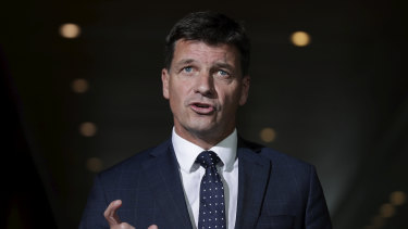 Energy Minister Angus Taylor says the gas industry has had time to build new capacity and it has not done so.