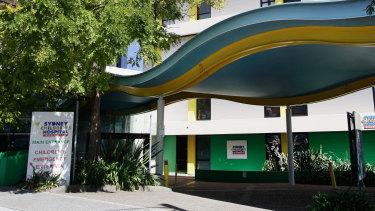 Sydney Children's Hospital at Randwick.