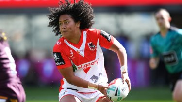 Out for the year: Teuila Fotu-Moala.