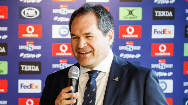 New Wallabies coach Dave Rennie in Sydney in January.
