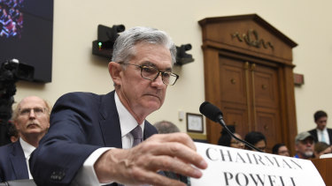 "Federal Reserve chairman Jerome Powell has warned the link between falling unemployment and higher inflation is now a ""faint heartbeat""."