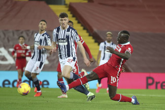 Sadio Mane appeared to have set Liverpool on course for yet another win at their Anfield fortress.