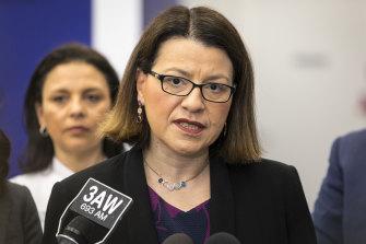Health Minister Jenny Mikakos.