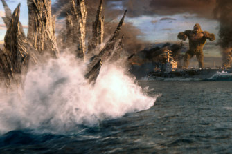 Ready to rumble: Godzilla vs Kong