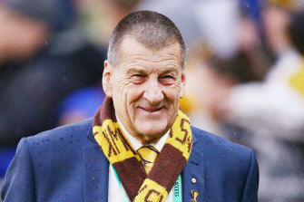 Jeff Kennett is a lightning rod for the discontent of Hawthorn members.