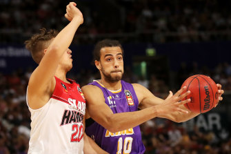 The Hawks and the Sydney Kings will play behind closed doors on Sunday.