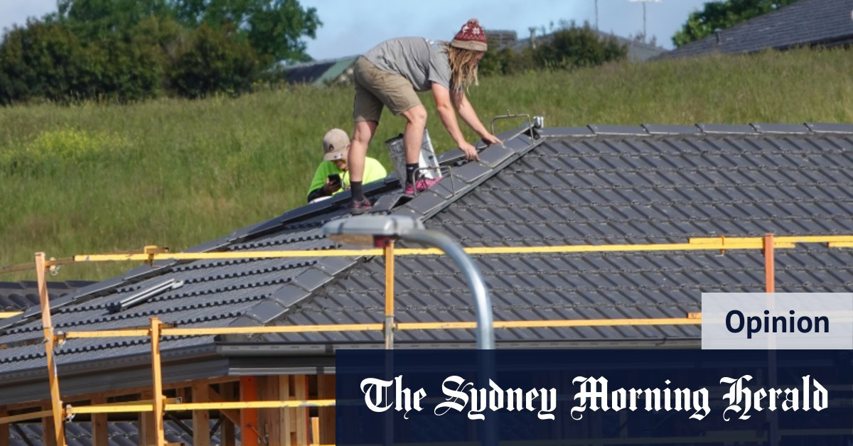 Yes in our backyards: how to give the kids a fair crack at home ownership – Sydney Morning Herald