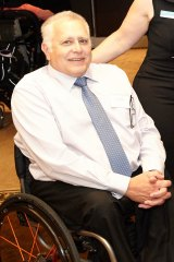 Physical Disability Council of NSW board president Chris Sparks.