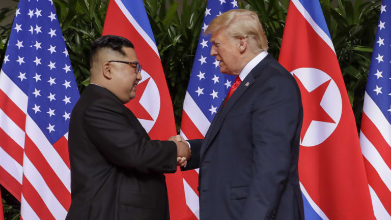 Even as we see the footage of Donald Trump shaking hands with Kim Jong-un we should not forget the kind of regime he leads.
