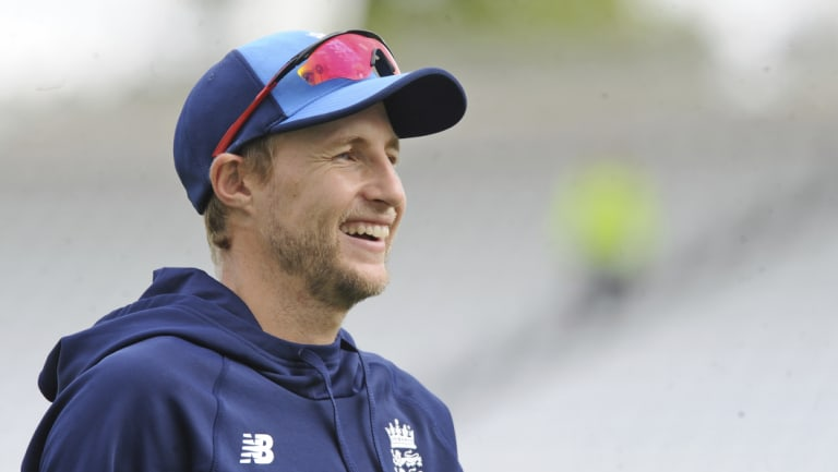Indian summer: Joe Root seems to have grown into the captaincy.