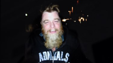 One of the last photos of Jeffrey Lindsell, taken a few months before his death.