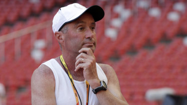 Track coach Alberto Salazar has been banned by USADA.