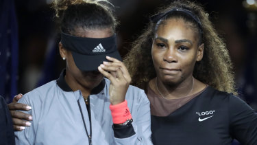 It was an emotional match for both women.